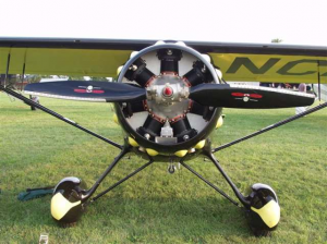 Monocoupe 90A with Optional Type F gear