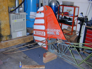 Monocoupe 110 tail feathers 2
