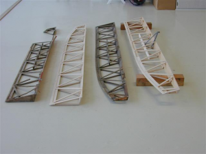 original ailerons and two new