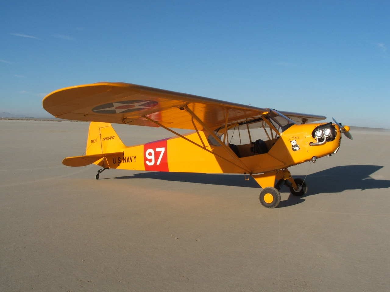 NC92497-7-Cub at El Mirage #1