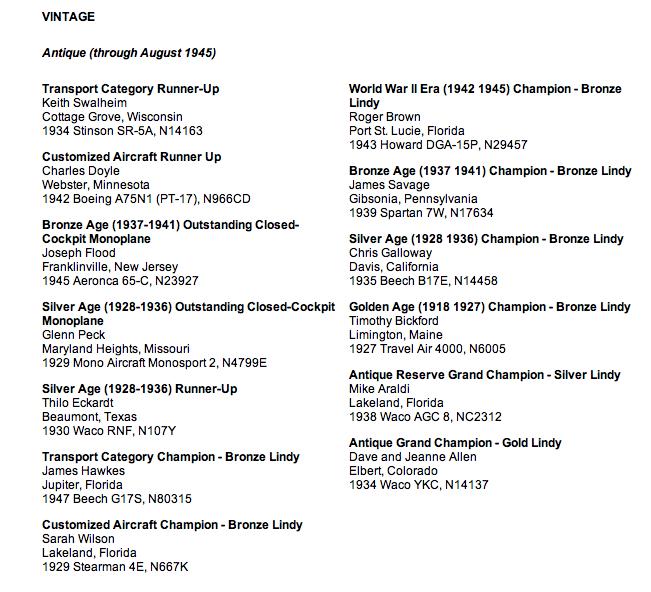Airventure-2013-vintage-awards