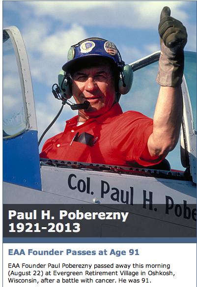Paul Poberezny, 1921-2013